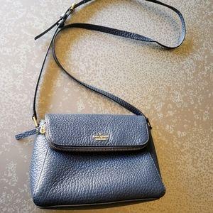 KATE SPADE Polly Leather Crossbody Bag - Navy